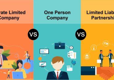 OPC vs LLP vs Pvt Ltd – Top 10 Major Differences