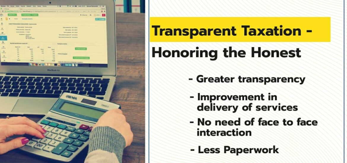 Transparent Taxation 2020: Faceless Assessment, Appeals and Taxpayers' Charter